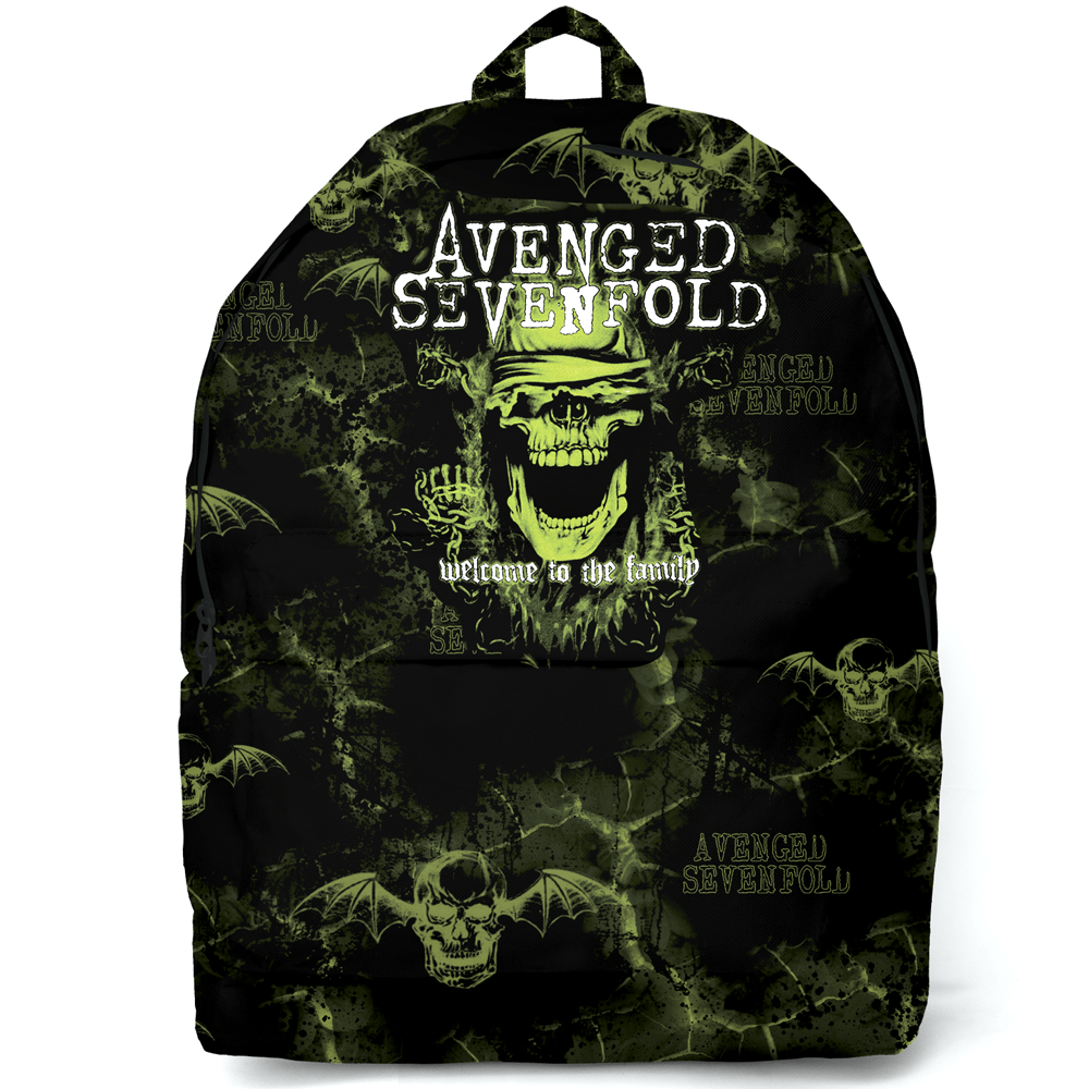 Mochila Avenged Sevenfold Welcome to the Family