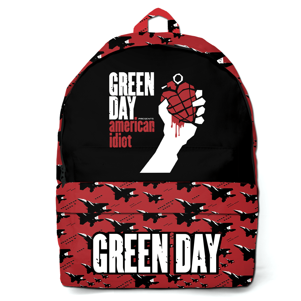 Mochila Green Day American idiot