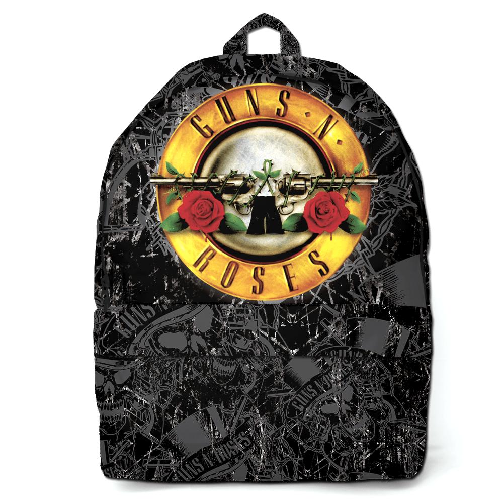 Mochila Rock Guns N' Roses Preta