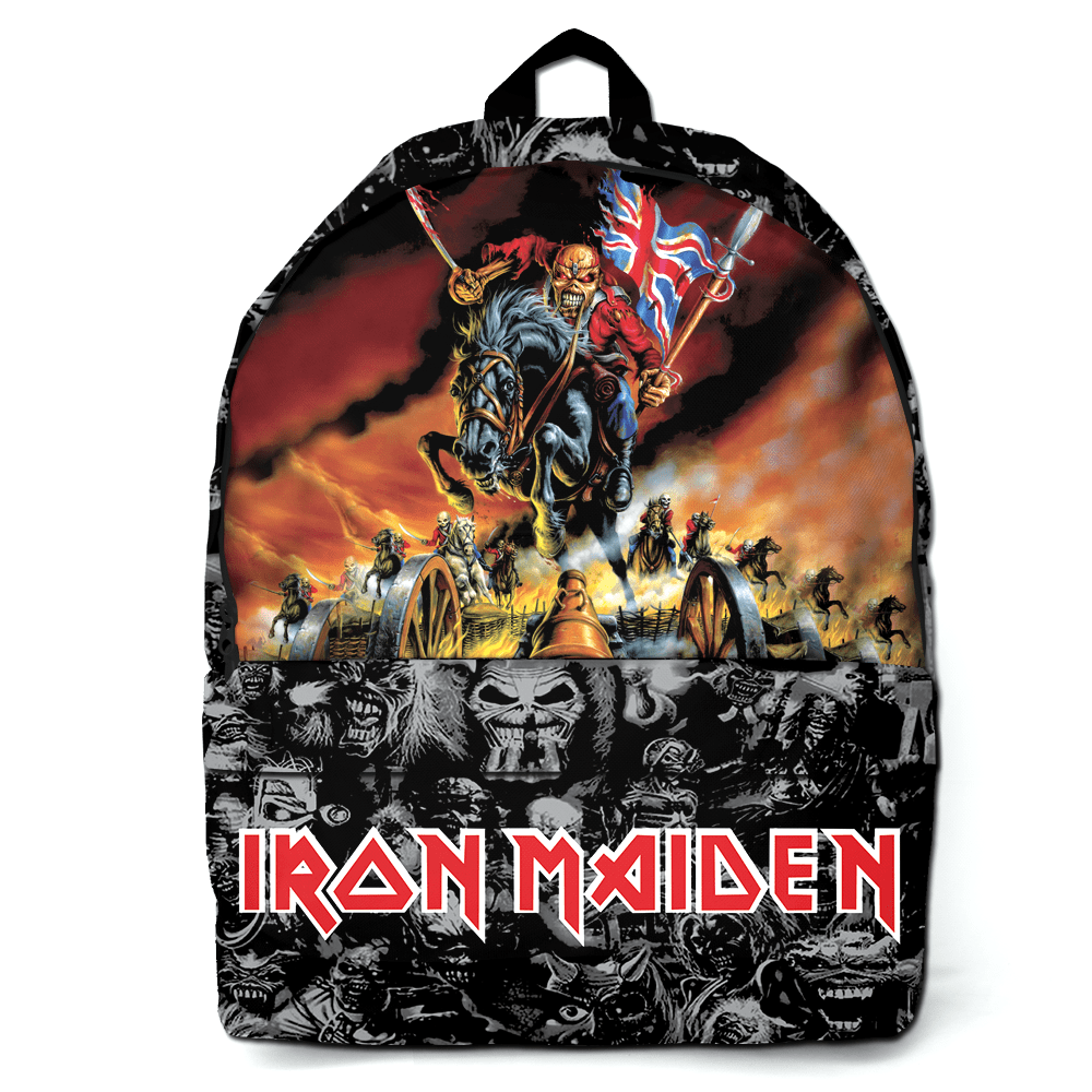 Mochila Rock Iron Maiden BD 044
