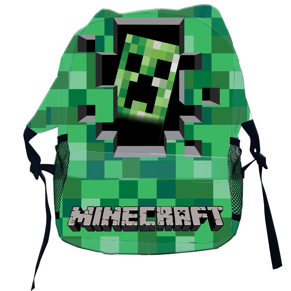 Mochila  jogo Minecraft crepper