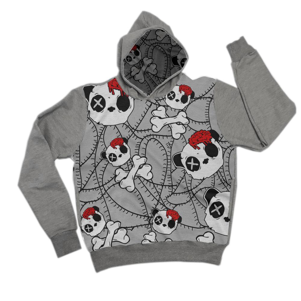 Moletom panda zombie
