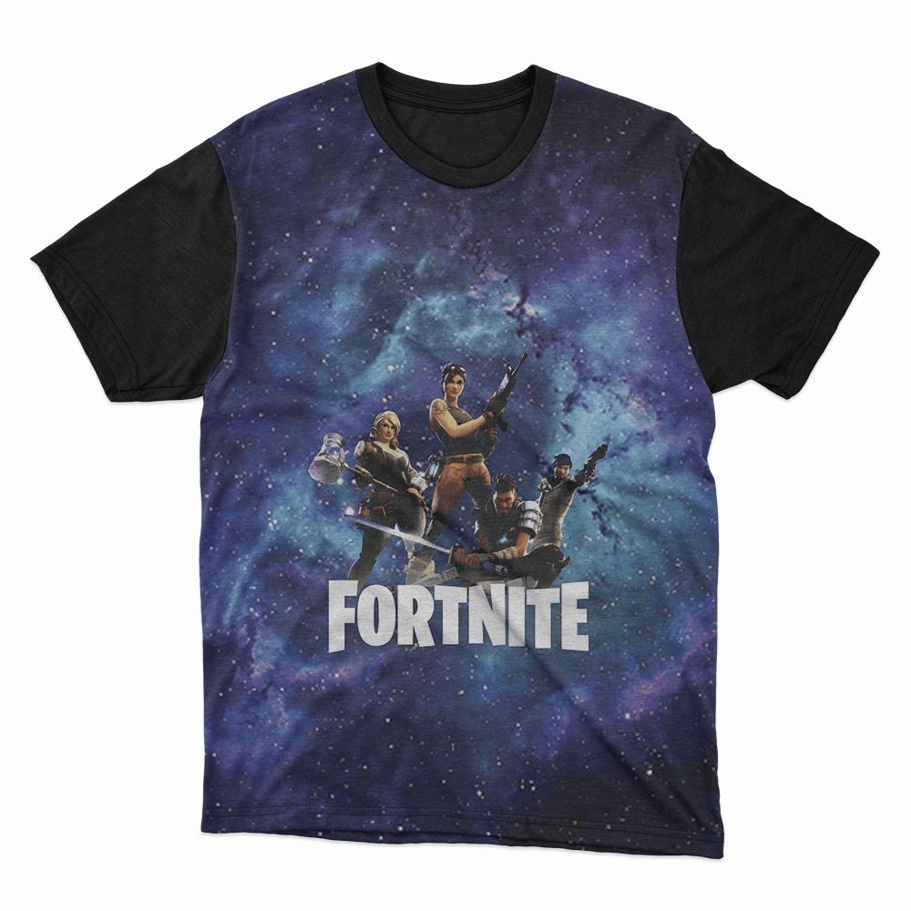 Camiseta Fortnite Azul