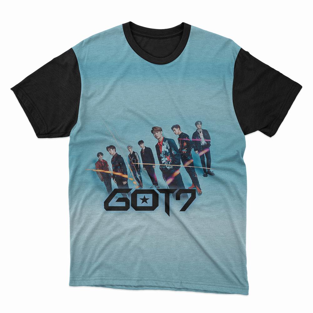 Camiseta Got7 Azul