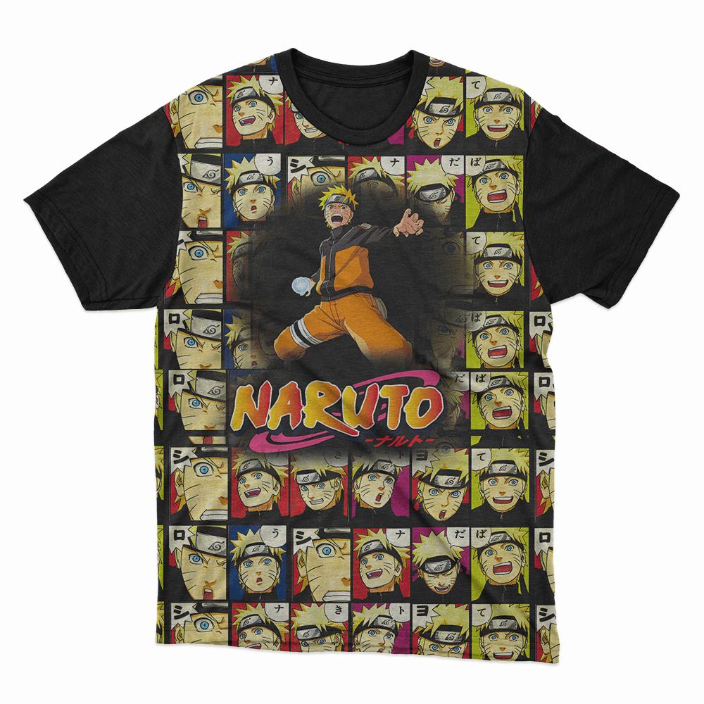 Camiseta Naruto Varios