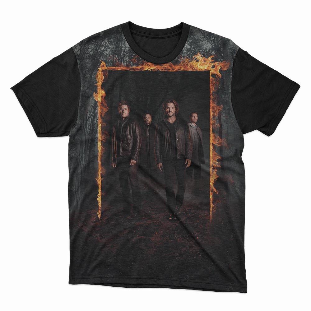 Camiseta série Supernatural