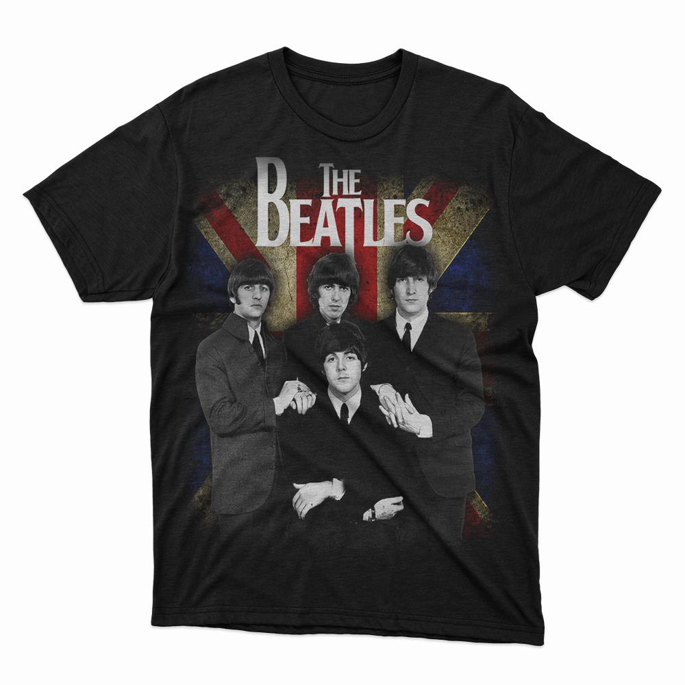 Camiseta The Beatles bandeira