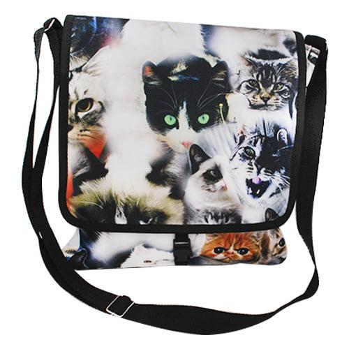 Bolsa unissex gatos