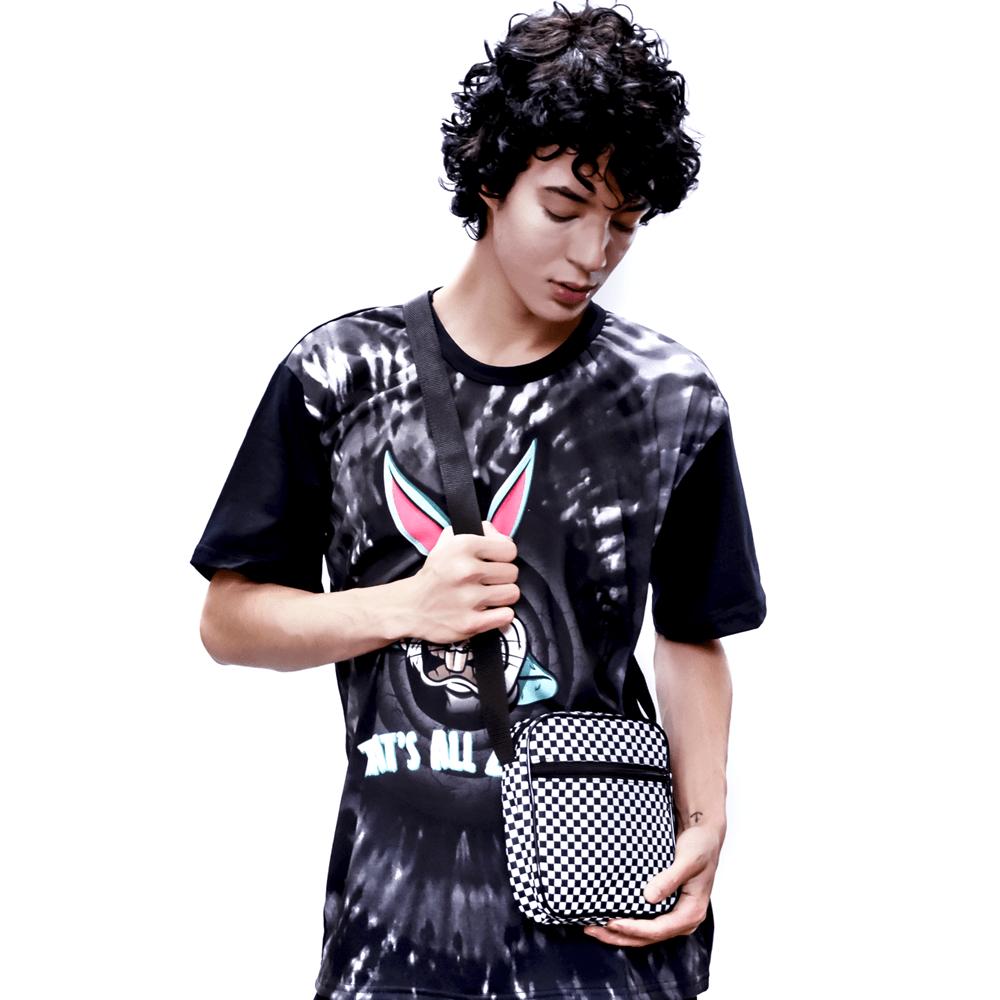 Shoulder Bag quadriculada