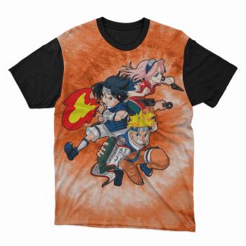 Camiseta Naruto e Amigos