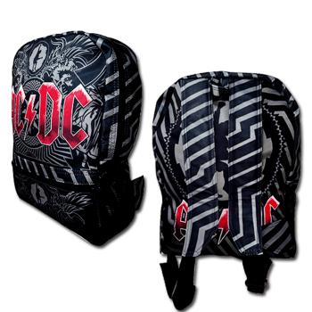 Mochila AC/DC logo vermelho