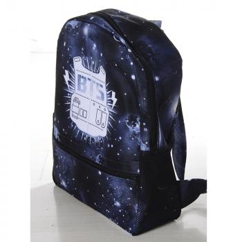 Mochila BTS Galáxia Azul