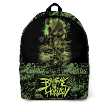 Mochila Bring Me the Horizon verde