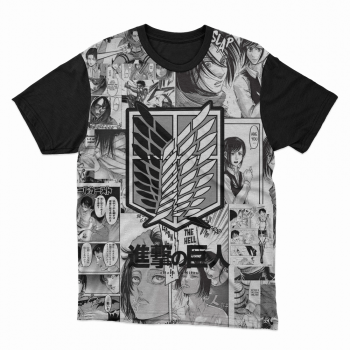 Camiseta anime Attack titan