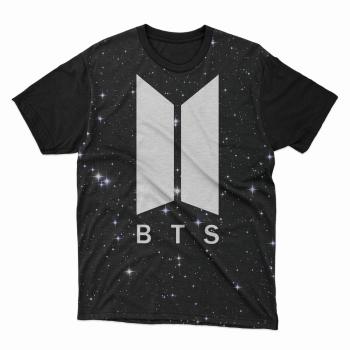 Camiseta BTS army black