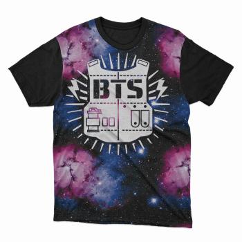 Camiseta BTS Colete Galaxia