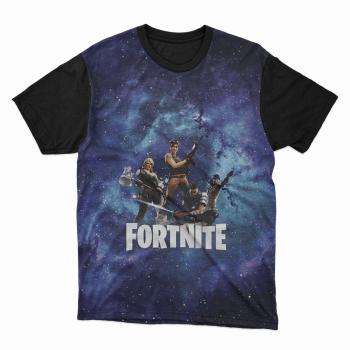 Camiseta jogo Fortnite Azul