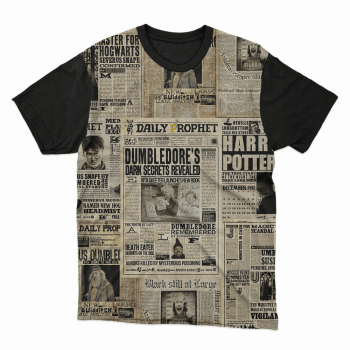 Camiseta Harry Potter Jornal