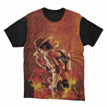Camiseta One Piece Ace