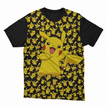 Camiseta anime Pikachú