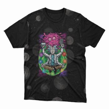 Camiseta Rick e morty