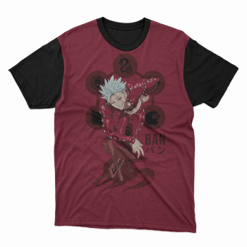 Camiseta Sete Pecados capitais