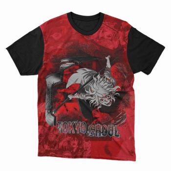 Camiseta tokyo ghoul Vermelha