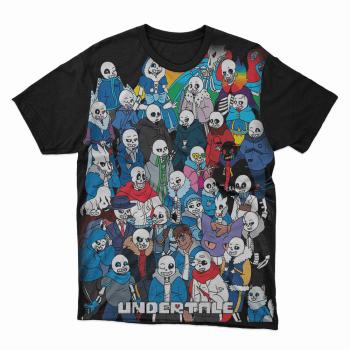 Camiseta jogo Undertale