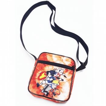 Shoulder bag naruto tie dye