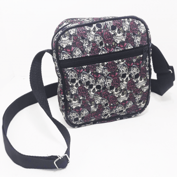 Shoulder Bag Caveiras Mexicanas