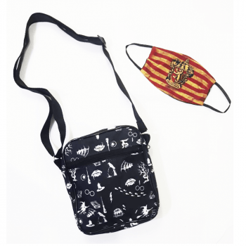 Shoulder Bag Harry Potter + Máscara