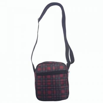 Shoulder Bag Xadrez Vemelho